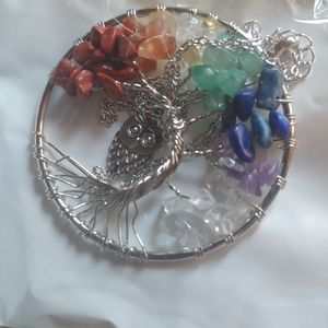 Chakra Tree Of Life Necklace.